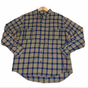 Filson Lightweight Alaskan Button Down Plaid Shirt